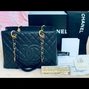 Full Set Chanel Series 18 Grand Shopping Tote GST